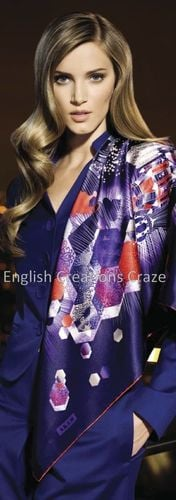 cotton silk print scarves suppliers