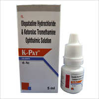 Olopatadine Hydrochloride And Ketorolac Tromethamine Ophthalmic Solution