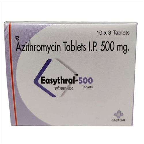 Azithromycin-500 mg tablets
