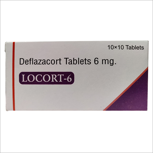 Deflazacort 6 mg. Tablets