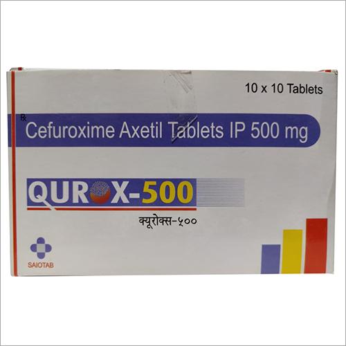 Cefuroxime-500 mg. Tab