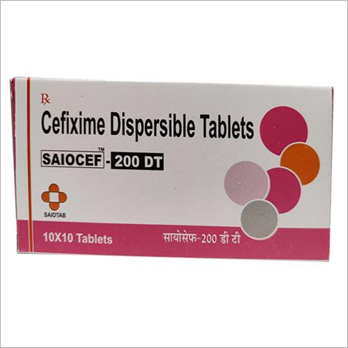 Cefixime-200 DT Tab