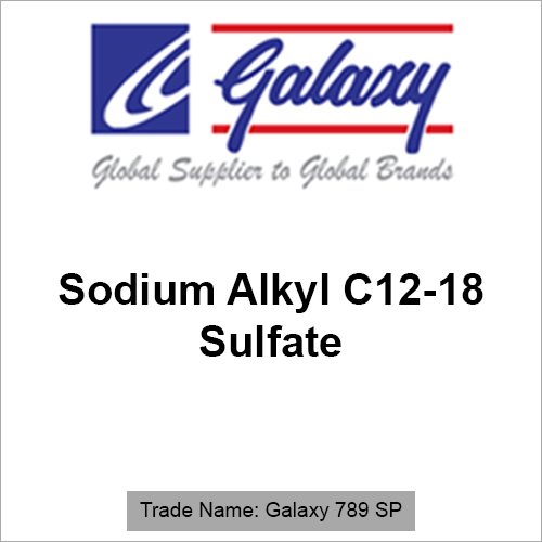 Sodium Alkyl C12-18 Sulfate