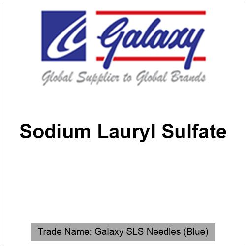 Sodium Lauryl Sulfate Blue Needles