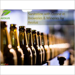 Ozone Based Sanitation System For Breweries & Wineries By Aeolus
