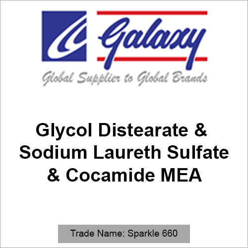Glycol Distearate And Sodium Laureth Sulfate And Cocamide MEA