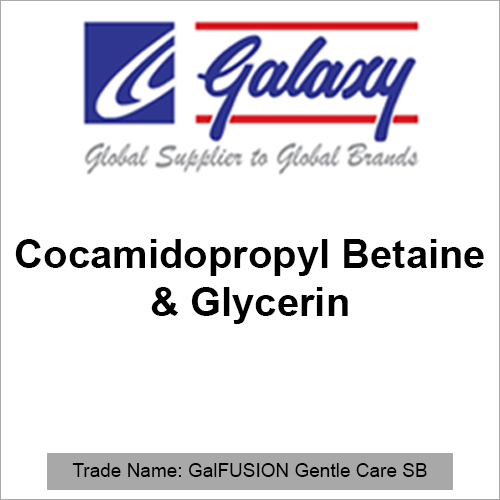 Cocamidopropyl Betaine And Glycerin