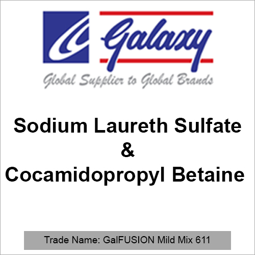 Sodium Laureth Sulfate And Cocamidopropyl Betaine