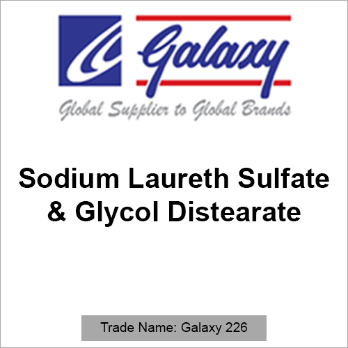 Sodium Laureth Sulfate And Glycol Distearate