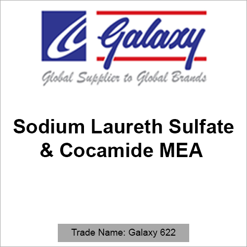 Sodium Laureth Sulfate And Cocamide MEA