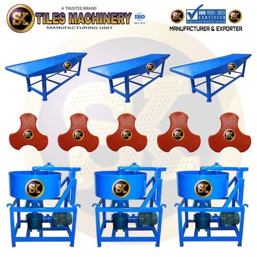 Interlock Tile making Machine