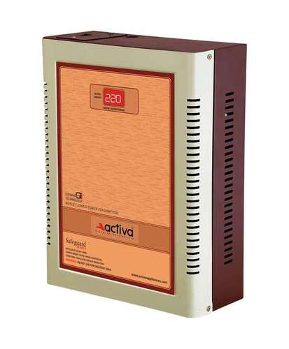 Double Phase Voltage Stabilizer