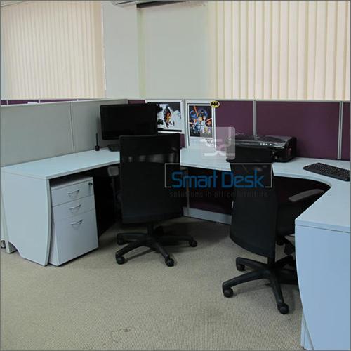 Modern Corner Workstation