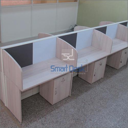 Wooden Straight Office Workstation