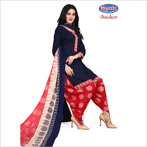 Printed Patiala Suit