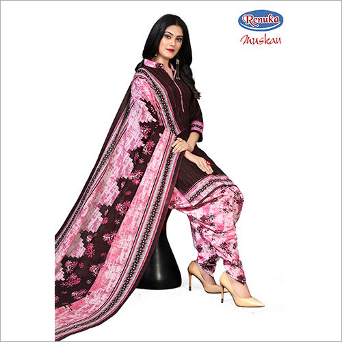 Ladies Printed Patiala Salwar Suit