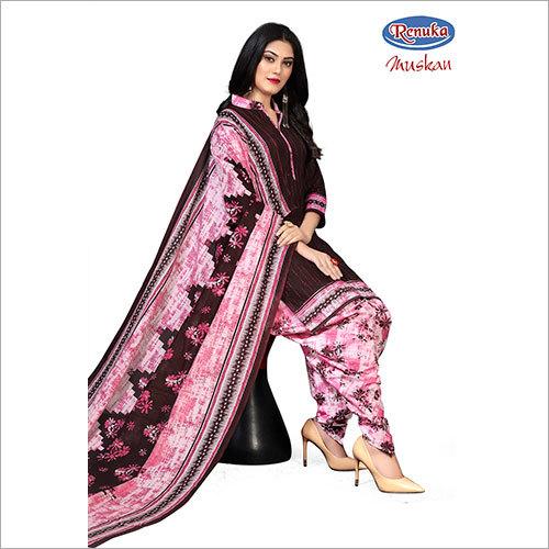 Ladies Printed Patiala Salwar Suit