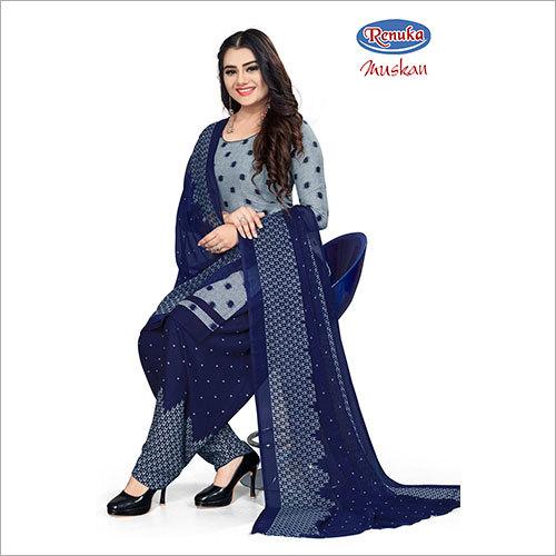 Ladies Semi Patiala Salwar Suit