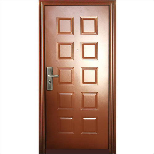 Brown Door Frame