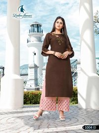 14 Kg Rayon With Embroidery Work