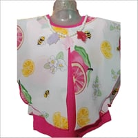 Girls Umbrella Sleeves Top