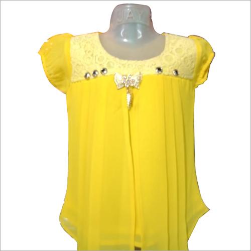 Yellow Fancy Top