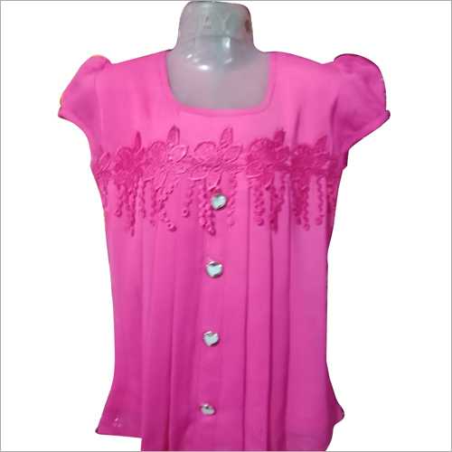 Girls Partywear Top