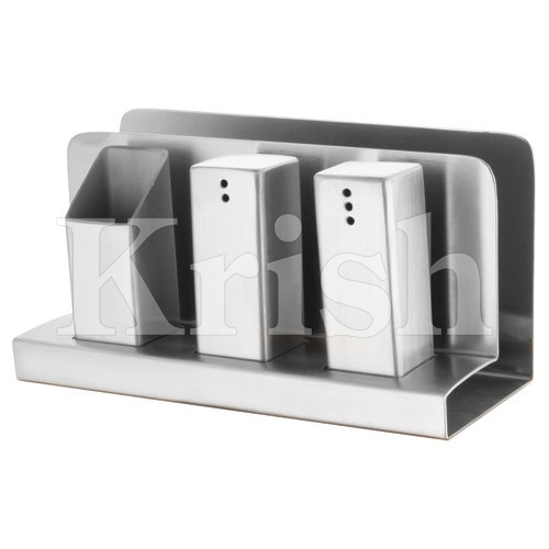 Four in one - S & P tooth pick Holder & Tissue paper Holder