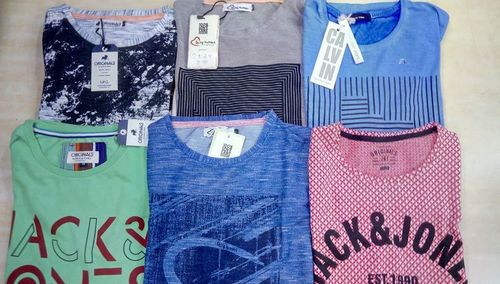 Surplus Branded Round Neck T-Shirt with Brand Bill