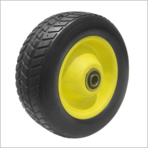 Solid Rubber Castor Wheel