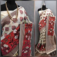 TOP DYED FABRIC SAREE