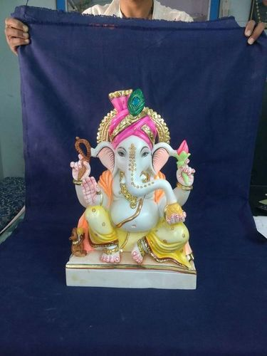 Lord Marble Ganesha Statue