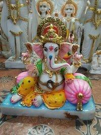 Ganesha Marble Statue