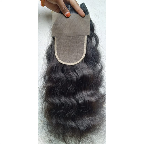 Transparent Swiss Lace Curly Closure 12 inch