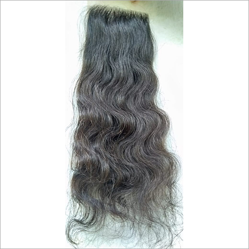 Transparent Swiss Lace Curly Closure 14 inch1