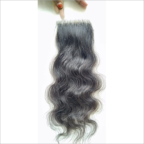 Transparent Swiss Lace Curly Closure