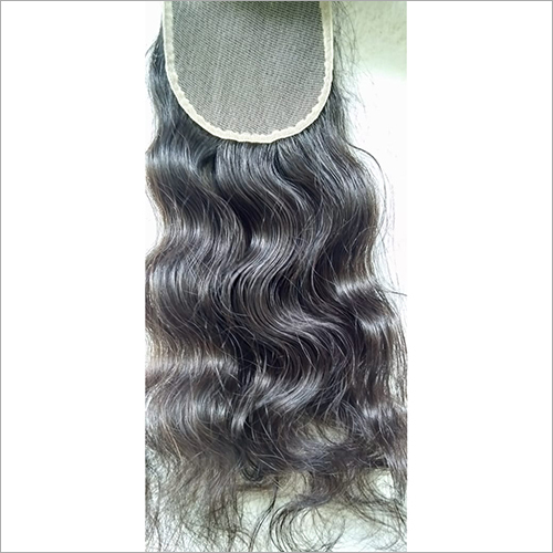 Transparent Swiss Lace Curly Closure 20 inch