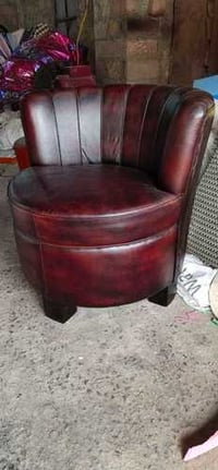 Classic Leather Sofa Chair