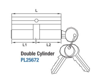 Double key/knob