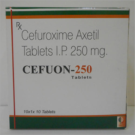 Cefuon 250 Cefuroxime Axetil Tablets