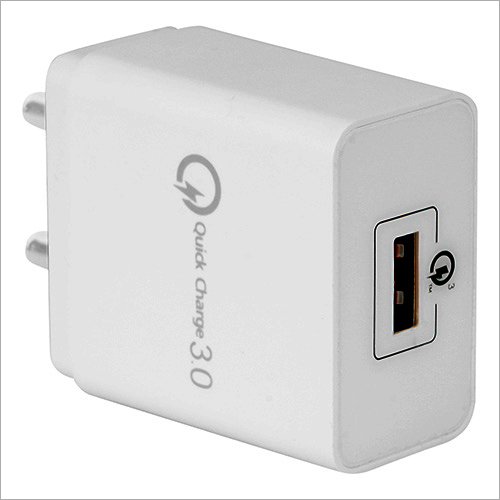 Single Port USB Smart Charger with Quick Charge Port