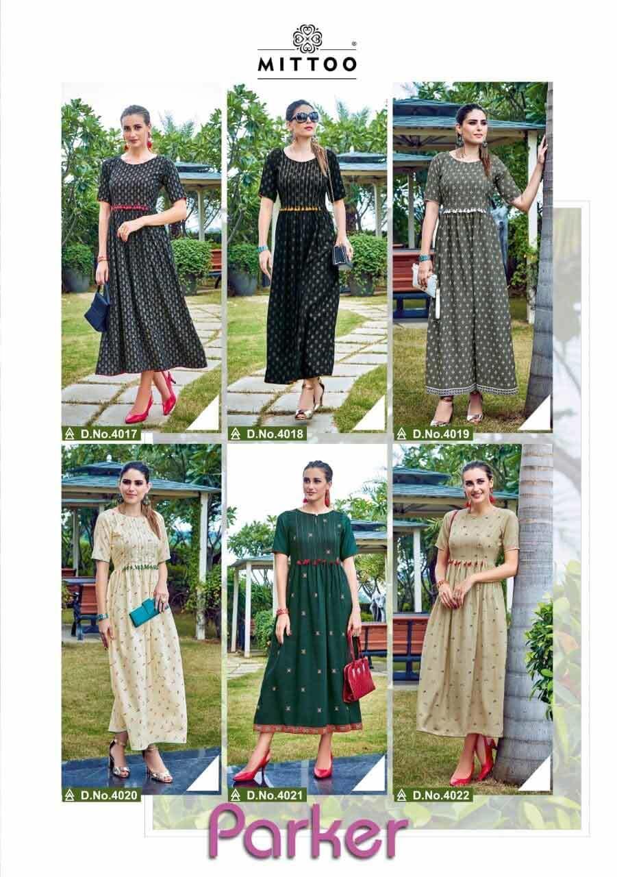 Rayon Printed Wholesale Kurti