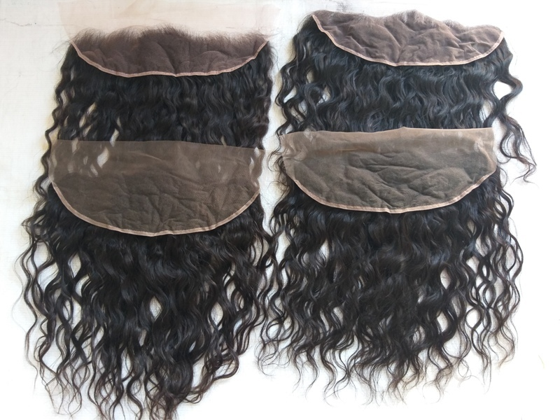 Lace Wavy Hair Transparent Swiss Lace Frontal