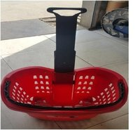 Rectangular Plastic Storage Hand Basket
