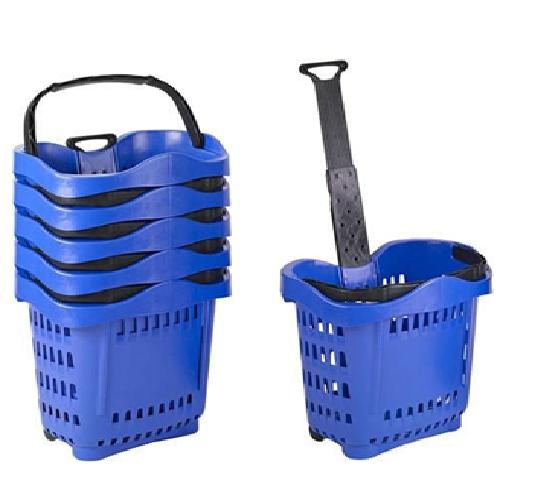 Rectangular Plastic Storage Hand Basket