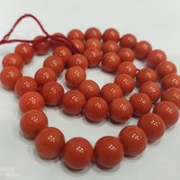 Italian Red Coral 8mm Beads