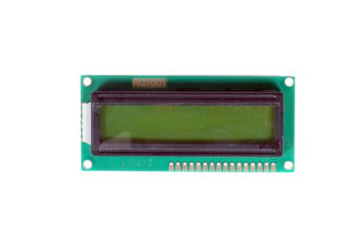 16X1 RG1601 Green LCD Display