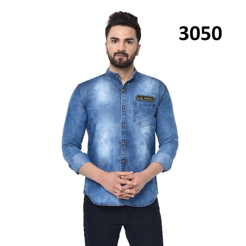 Mens Denim Shirt