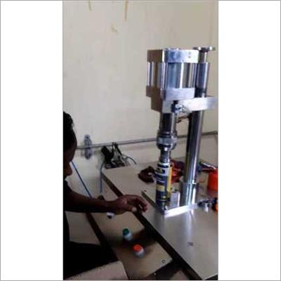 Aerosol Crimping Machine Pneumatic