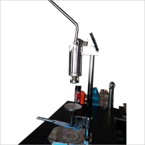 Perfume Bottles Crimping Machine With Stand